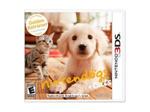 Nintendogs + Cats: Golden Retriever and New Friends 3DS Nintendo 3DS Game