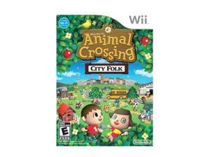 Animal Crossing: City Folk Wii Game