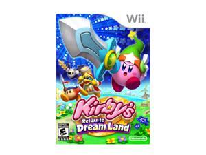 Kirby's Return to Dream Land Wii Game Nintendo