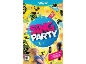 SiNG Party w/Wii U Microphone Wii U Games