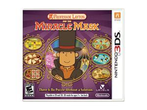 Professor Layton and the Miracle Mask Nintendo 3DS Game Nintendo