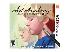 Art Academy: Lessons for Everyone Nintendo 3DS Game