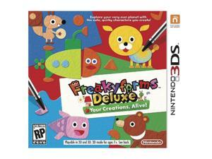 FreakyForms Deluxe: Your Creations, Alive! Nintendo 3DS Game