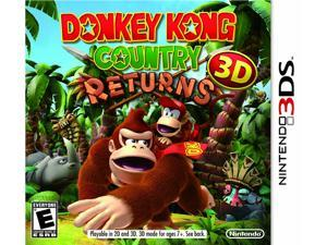 Donkey Kong Country Returns 3D Nintendo 3DS Game