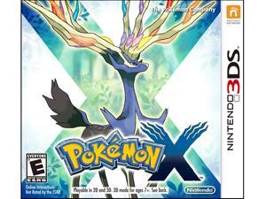 Pokemon X Nintendo 3DS Game Nintendo