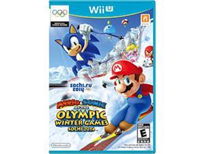 Mario  & Sonic at the Olympic Winter Games 2014 Wii U