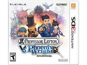 Professor Layton vs. Phoenix Wright: Ace Attorney Nintendo 3DS