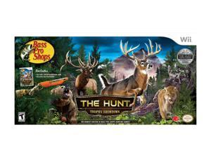 Bass Pro Shops: The Hunt Trophy Showdown Bundle Wii Game