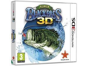Super Black Bass 3D Nintendo 3DS Game AKSYS GAMES