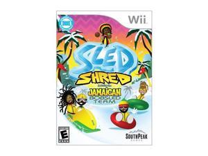 Sled Shred Wii Game SOUTH PEAK