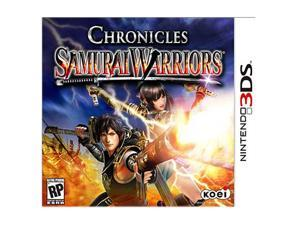 Samurai Warriors Chronicles Nintendo 3DS Game