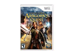 Lord of the Rings: Aragorn's Quest Wii Game