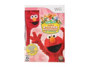 Sesame Street: Elmo's A to Zoo Adventure Wii Game