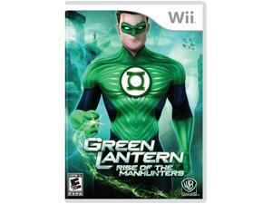 Green Lantern: Rise Of Manhunters Wii Game