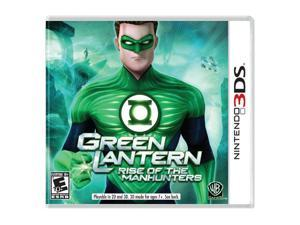Green Lantern: Rise of the Manhunters Nintendo 3DS Game