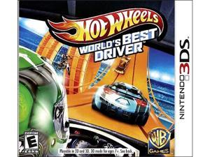 Hot Wheels: World's Best Driver Nintendo 3DS Game