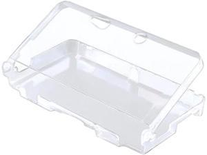 INSTEN Clear Snap-On Plastic Crystal Hard Case Protective Cover For Nintendo 3DS