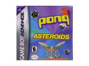 Asteroids/Pong/Yar's Revenge GameBoy Advance Game DSI GAMES