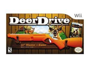 Deer Drive w/Rifle Hunting Bundle Wii Game