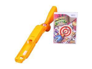 Arcade Shooting Gallery w/Blaster Bundle Wii Game
