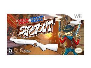 Wild West Shootout w/Blaster Bundle Wii Game