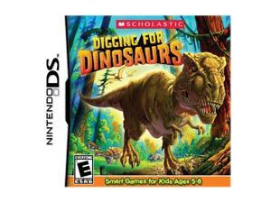 Digging for Dinosaurs Nintendo DS Game Scholastic
