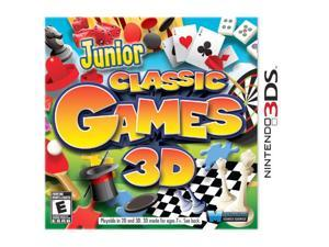 Junior Classic Games 3D Nintendo 3DS Game