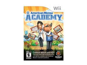 American Mensa Academy Wii Game