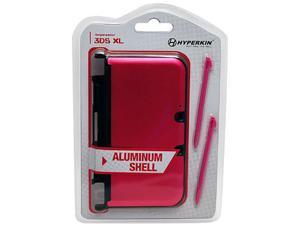 Hyperkin 3DS XL Aluminum Shell with 2 Stylus Pens (Pink)