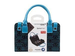 Power A DSi Quilted Tote TEAL/BLK