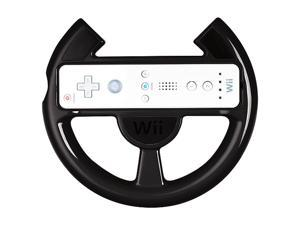 Power A Wii Racing Wheel Black