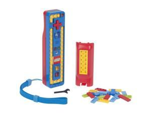 Power A Wii LEGO Play and Build Remote Blue/Red