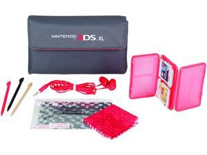 Power A Red 3DS XL Starter Kit for Nintendo 3DS