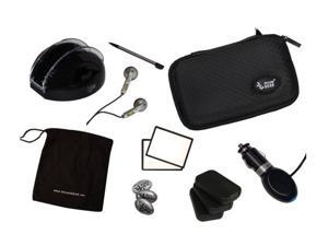 dreamGEAR 17-in-1 Bundle Pak Black (Redesigned Clamshell) for Nintendo DS Lite