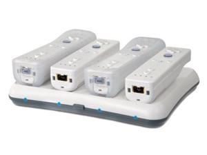 dreamGEAR Wii Wireless Charging Power Base Quad