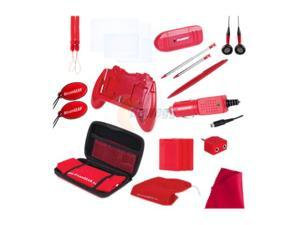 dreamGEAR 3DS 20-in-1 Starter Kit Red