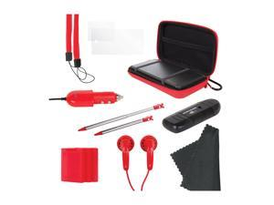 dreamGEAR 3DS 13 in 1 Gamer Pack Red
