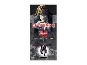 Death Note Vol 1 (Episodes 1-4) with Limited Edition Ryuk Figurine(DVD)-NLATPR