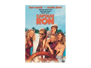 Captain Ron (1992 / DVD) Kurt Russell, Martin Short, Mary Kay Place, Benjamin Salisbury, Meadow Sisto
