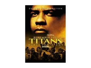 Remember the Titans (Director's Cut / Unrated Extended Cut / DVD) Denzel Washington&#59; Will Patton&#59; Wood Harris&#59; Kip Pardue&#59; ...