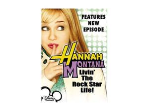 Hannah Montana, Vol. 1 - Livin' the Rock Star Life (2006 / DVD) Miley Cyrus, Emily Osment, Jason Earles, Billy Ray Cyrus, ...