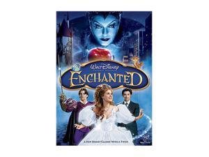 ENCHANTED (DVD / FF 1.33 / DD 5.1 / SP-FR-Both) Amy Adams&#59; Patrick Dempsey&#59; James Marsden&#59; Timothy Spall&#59; Idina Menzel&#59; Rachel Covey&#59; Susan Sarandon&#59; Julie Andrews (voice)&#59; Samantha Ivers&#59; Kevin Lima