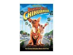 Beverly Hills Chihuahua (DVD / WS 2.40 / FF 1.33 / SP-FR-Both) Piper Perabo&#59; Drew Barrymore (voice)&#59; Jamie Lee Curtis&#59; George Lopez (voice)&#59; Manolo Cardona&#59; Andy Garcia (voice)&#59; Cheech Marin (voice)&#59;