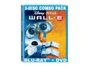 Wall-E - 3-Disc BD Combo Pack (2-Disc BD+DVD) Fred Willard, Jeff Garlin (voice), Sigourney Weaver (voice), John Ratzenberger ...