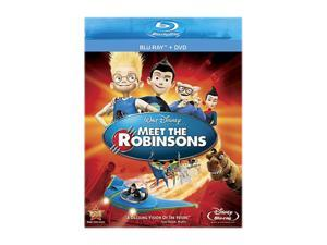 Meet the Robinsons (DVD + Blu-ray) Angela Bassett (voice), Paul Butcher (voice), Jessie Flower (voice), Spencer Fox (voice), ...