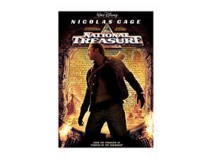 National Treasure (DVD + Blu-ray) Nicolas Cage, Diane Kruger, Justin Bartha, Sean Bean, Jon Voight