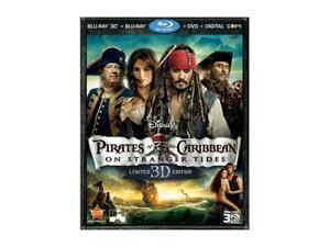 Pirates of the Caribbean: On Stranger Tides (DVD + 3D Blu-ray/WS) Johnny Depp, Penelope Cruz, Geoffrey Rush, Ian McShane, ...