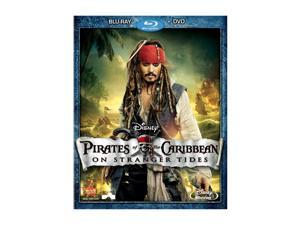 Pirates of the Caribbean: On Stranger Tides (DVD + Blu-ray/WS) Johnny Depp, Penelope Cruz, Geoffrey Rush, Ian McShane, Astrid Berges-Frisbey