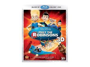 Meet the Robinsons (3D Blu-ray + DVD + Digital Copy + Blu-ray/WS) Angela Bassett (voice), Paul Butcher (voice), Jessie Flower (voice), Spencer Fox (voice), Jordan Fry (voice)