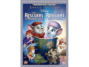 The Rescuers / The Rescuers: Down Under (Thee-Disc Blu-ray/DVD Combo in DVD Packaging)